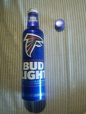BUD LIGHT PLATINUM STRONG LABATT- CANADA ALUMINUM BOTTLE