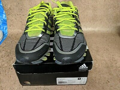 official photos 1cdb4 62563 ADIDAS SPRINGBLADE M Black/Grey/Neon Green G98612 Size 12 Sneakers Shoes  (7D)