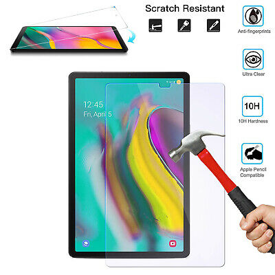 """Clear HD Screen Protector For Samsung Tab A 10.1"""" (2019) 9H Tempered Glass T510"""