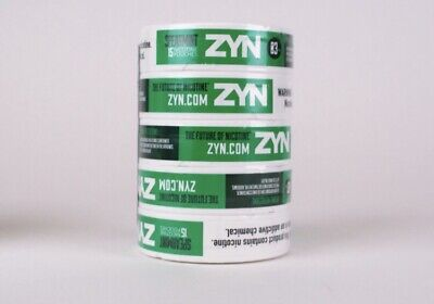 Zyn Nicotine Pouches Spearmint 6 Mg Log/roll/5 Cans