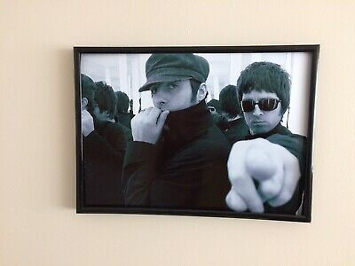 Oasis Liam Gallagher A4 260gsm Framed Poster Print