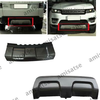 For Range Rover Sport 14-17 Mouldings Front Skid Plate Shield Bumper Board Trim