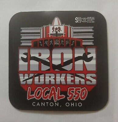 Union Ironworkers Building America Since 1896 Hard Hat Sticker Decal Labor