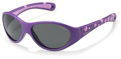Occhiali da sole Sunglasses Polaroid P 0401 0Q9 KIDS VIOLA 100% POLARIZZATO UV