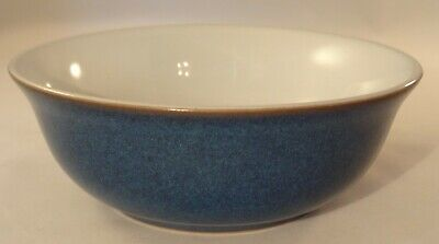 "Denby Imperial Blue 6 1/4"" Cereal Soup Breakfast Bowl VGC"