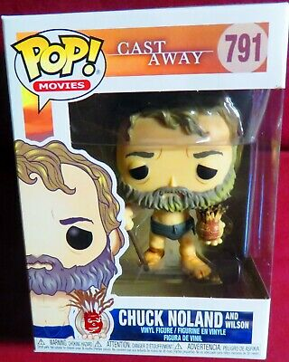 "Brand New Pop Movies, ""Cast Away"", Tom Hanks As Chuck Noland With Wilson"