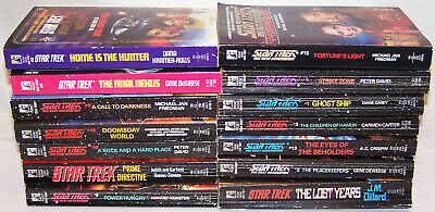 Trekies, Get Your Library of Star Trek Novels 14 individual books. See listing