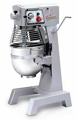 MVP Primo PM-30 Planetary Meat Mixer 30 qt. Capacity 3 Speed Gear Driven