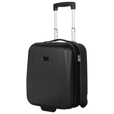 Ciao Underseat Hardside Wheeled Carry On Bag Travel Luggage