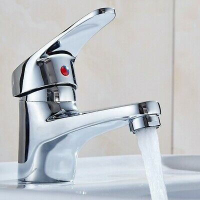 Kitchen Tap Alloy Basin Taps Metal Sink Tap Hot and Cold Water Faucet for Home