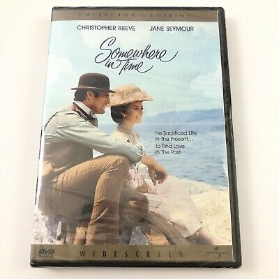 Somewhere In Time DVD w Christopher Reeve & Jane Seymour New Collectors Edition