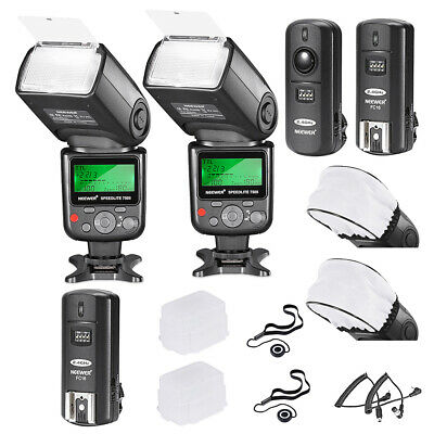 2 Pack 750II i-TTL Flash Speedlite Kit for Nikon DSLR Camera