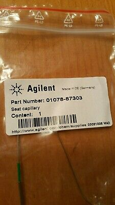 Genuine Agilent Autosampler Needle Seat Capillary Assembly Part No 01078-87303