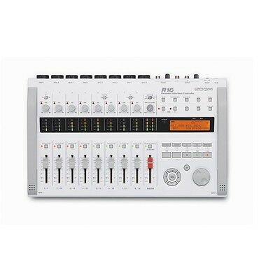 Zoom R16 Digital Interface Controller Recorder 16 tracks from japan F/S