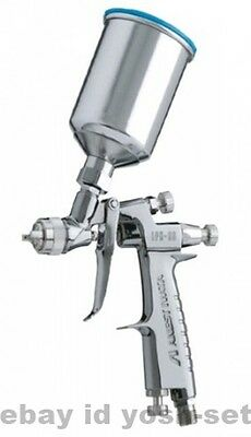 ANEST IWATA LPH80 124G Mini Gravity Feed Spray Gun with 150ml Cup LPH-80-124G