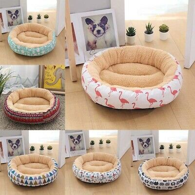 Pet Dog Cat Bed Puppy Cushion House Soft Winter Warm Mat Blanket 50*12cm