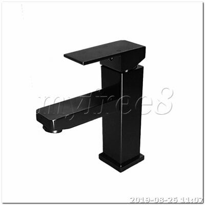 Space Aluminum One-Handle Single Hole Modern Bathroom Sink Faucet