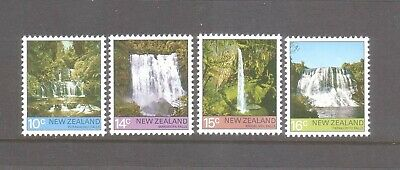 New Zealand 1976 Waterfalls Mint unhinged set 4 stamps