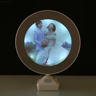 Luminous Glowing Mirror Magical Photo Frame DC5V Multifunction White Home Decor
