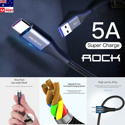 USB Type-C Fast Charging Data Charger Cable Samsung Galaxy Note 10+ S9 S8+ Plus