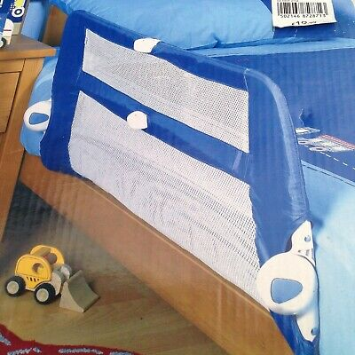 Mothercare Safety Folding Bedrail, Mesh Barrier, Bed Guard, Side Rail 18 Months+