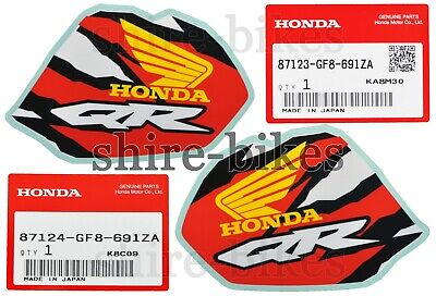 NEW GENUINE Honda Tank Decals Stickers (Pair) Honda QR50 QR 50