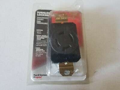 New Pass & Seymour Locking Receptacle Outlet 20A 125/250V, L14-20R, L1420-RCCV3