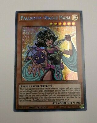 IN HAND SHIPS FAST Palladium Oracle Mana - TN19-EN004 - Prismatic Secret Rare