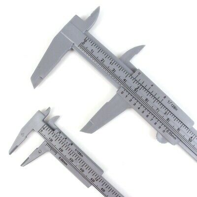 "MINI TRAVEL CALIPER SET 3"" & 6"" Hand Tool Measure Diameter Wood Nut Bolt Screw"