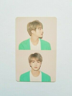 """K-Pop Bts Album """"Map Of The Soul : Persona"""" Official Jin Photocard"""