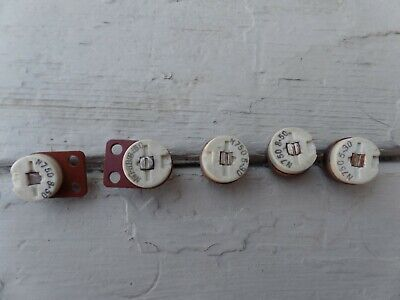 N750 variable capacitor 5-30 pf & 8-50 pf . Used in Hallicrafters SR-160 radios.