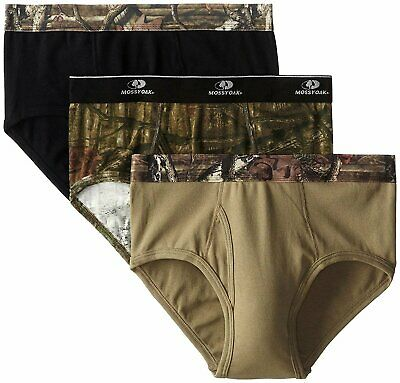 Mossy Oak Men's 3 Pack Underwear Briefs