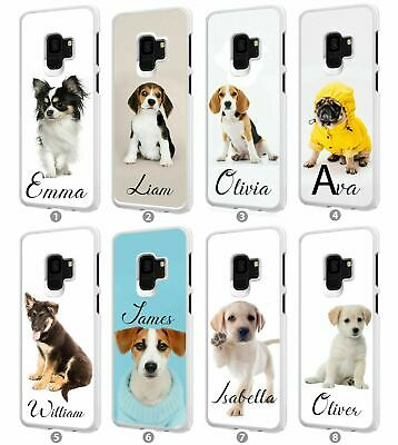 Personalised Dog Any Name Phone Case Cover For Samsung Galaxy Models 097
