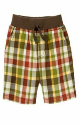 NWT GYMBOREE OUTBACK ADVENTURE ARMY GREEN ELASTIC WAIST SHORTS 2T