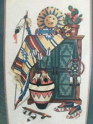 Southwest Appeal ~ Crewel Embroidery KIT by SUNSET  NEW and Sealed ~ Stunning !