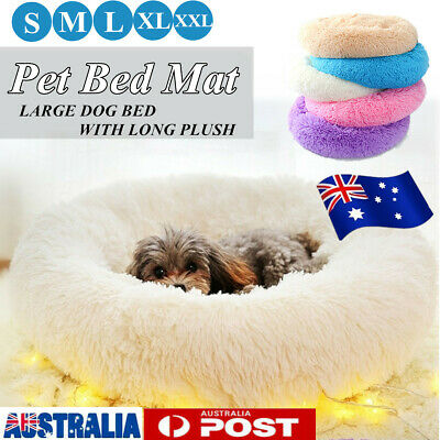 Pet Dog Cat Bed Deluxe Soft Cushion Cave Warm Sofa Kennel Mat Blanket
