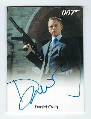 James Bond 007 Daniel Craig Auto Casino Royale Autograph Rittenhouse