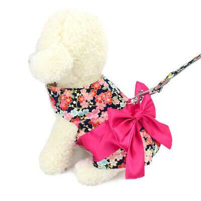 1pc Pet Supplies Printed Soft Dog Accessories Dog Vest Walking Harness for Dog
