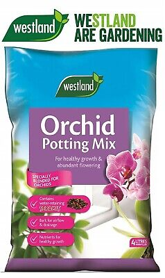 Westland Orchid Potting Compost Mix and Enriched with Seramis 4 L