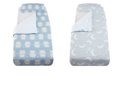 Grobag Gro to bed toddler bedding gro cot bed or single Many Moons Ollie The Owl