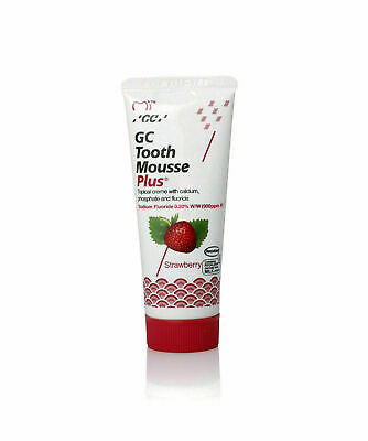 Gc Tooth Mouse Plus Strawberry Caries Protection Tooth CreamTube Of 40gm