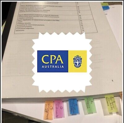CPA Financial Reporting Exam WINNING INDEX, SHORT NOTES & SAMPLE QUESTIONS
