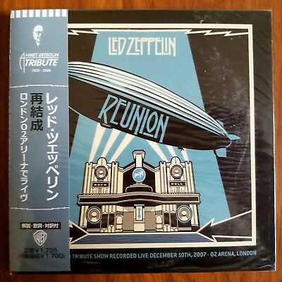Led Zeppelin - Reunion. 2007 Live at Arena London. NEW sealed Mini-LP 2CD's