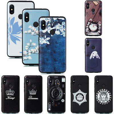 For Xiaomi Redmi 7 7A K20 Note 7 6 Pro Slim Painted Soft Silicone TPU Case Cover