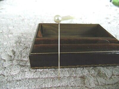 Stunning Antique Natural Pearl and 14k Stickpin #26