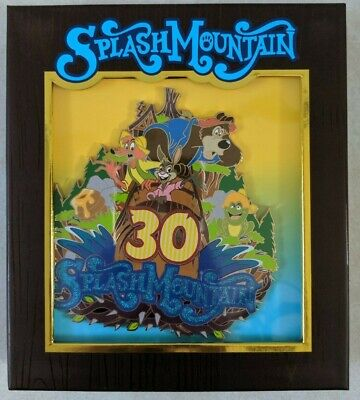 D23 Expo 2019 Splash Mountain 30th Anniversary Jumbo Pin LE 200