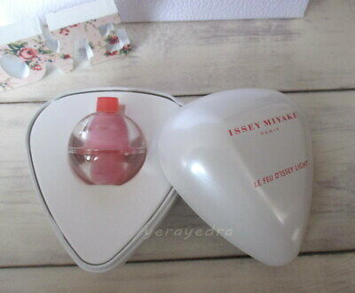 Coffret RARE Miniature Le Feu d'Issey Light de Issey Miyake EDT 5ml Discontinued