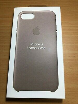 New OEM Authentic Apple iPhone 8 IPhone 7 IPhone 6s Leather Case - Taupe