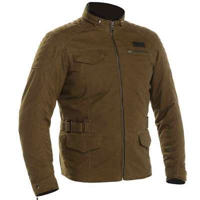 Richa Galvestone Green Old School Classic Waterproof Motorcycle Motorbike Jacket