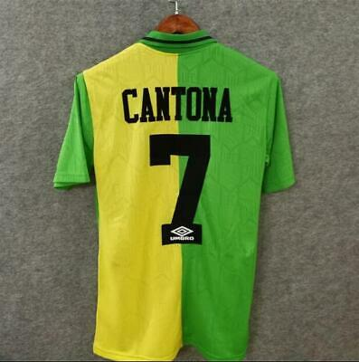 CANTONA 7 Football Shirt 1992-94 MAN UTD Retro Jersey Manchester Soccer shirt